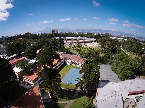 Campus Interamericano - View of Guatemala City in the back
