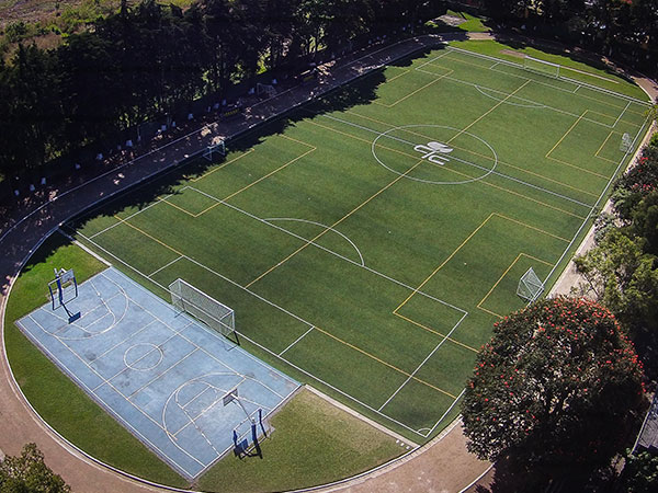 Soccer Field - Synthetic grass and FIFA standards